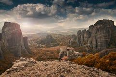 The Meteora Royalty Free Stock Photo