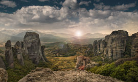 The Meteora Royalty Free Stock Photo