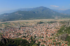Meteora de Grecia fotografía de archivo libre de regalías
