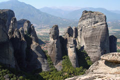 Meteora de Greece Fotografia de Stock Royalty Free
