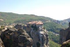 Meteora in de zomer Royalty-vrije Stock Afbeelding