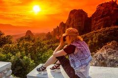 Meteora della Grecia Fotografie Stock Libere da Diritti
