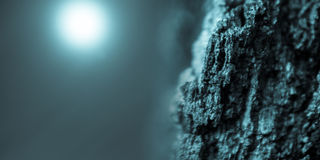 Meteora e stella distante Fotografia Stock Libera da Diritti