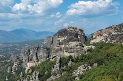 Meteora em greece imagens de stock royalty free