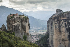 Meteora em greece Fotos de Stock