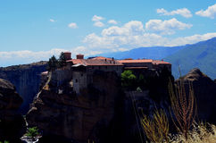 Meteora em greece Fotos de Stock Royalty Free