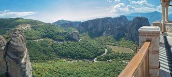 Meteora em greece Monastério Varlaam imagem de stock royalty free