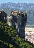 Meteora en Grecia Imagen de archivo libre de regalías