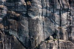 Meteora-Felsen, Natursteinhintergrund, Griechenland Lizenzfreie Stockfotografie