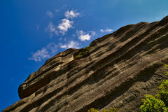 Meteora-Felsengesicht Stockfotos
