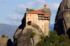 Meteora-Felsenlandschaft Griechenland Lizenzfreie Stockfotos