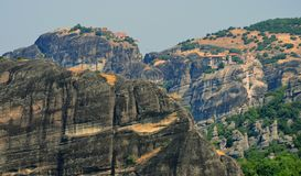 Meteora geological Stock Photography