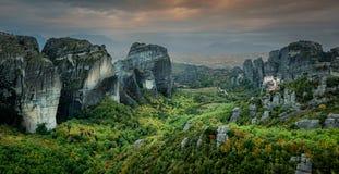 Meteora, Grécia Imagem de Stock