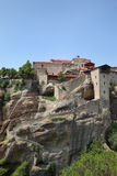 Meteora, Great Meteoron, Greece, Thessaly Royalty Free Stock Photography
