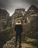 Meteora Grecia fotografía de archivo libre de regalías