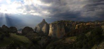 Meteora Grecia Fotografie Stock Libere da Diritti