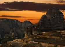 Meteora Grecia immagine stock