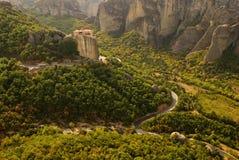 Meteora Grecia fotografia stock libera da diritti