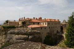 Meteora Grecia fotografie stock