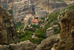 Meteora Grecia immagini stock