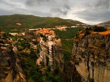 Meteora Grecia immagini stock libere da diritti