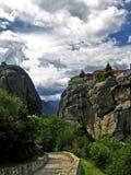 Meteora, Grecia Foto de archivo libre de regalías