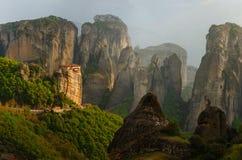 Meteora, Grecia fotografie stock
