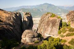 Meteora, Grecia Immagini Stock Libere da Diritti
