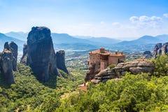 Meteora, Grecia Fotografie Stock Libere da Diritti