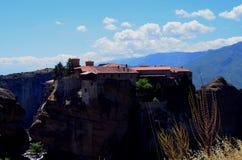 Meteora in Grecia Fotografie Stock Libere da Diritti