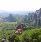 Meteora Grecia - immagine di riserva Fotografia Stock Libera da Diritti