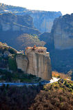 Meteora, Grecia - lugares santos Foto de archivo