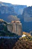 Meteora, Grecia - luoghi santi Fotografia Stock