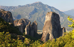 Meteora in Greece Royalty Free Stock Photography