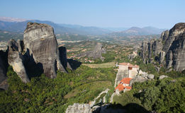 Meteora in Greece Royalty Free Stock Image