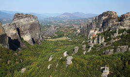 Meteora in Greece Royalty Free Stock Photo