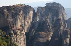 Meteora in Greece Royalty Free Stock Images