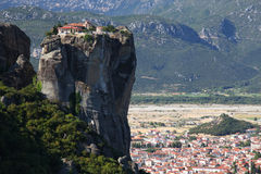 Meteora in Greece Stock Photo
