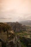 Meteora in greece Stock Images