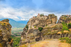 Meteora, Greece Royalty Free Stock Images