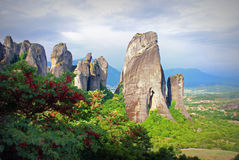 Meteora-Greece Royalty Free Stock Photography