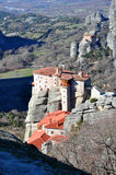 Meteora, Greece - Holy Places Stock Images