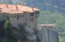 Meteora in Greece Stock Images