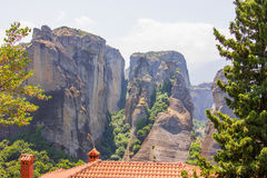 Meteora. Greece Royalty Free Stock Images
