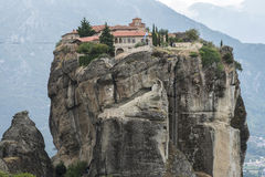 Meteora in Greece Royalty Free Stock Photos