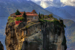 Meteora,  Greece - monastery Holy Trinity Royalty Free Stock Image