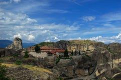 Meteora, Greece -  Monastery of The Holy Trinity Royalty Free Stock Photos