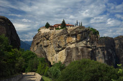 Meteora, Greece -  Monastery of The Holy Trinity Stock Photography
