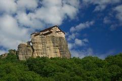 Meteora, Greece -  Monastery Roussanou Stock Images