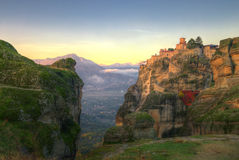 Meteora, Greece - monastery of St. Barlaam Royalty Free Stock Images